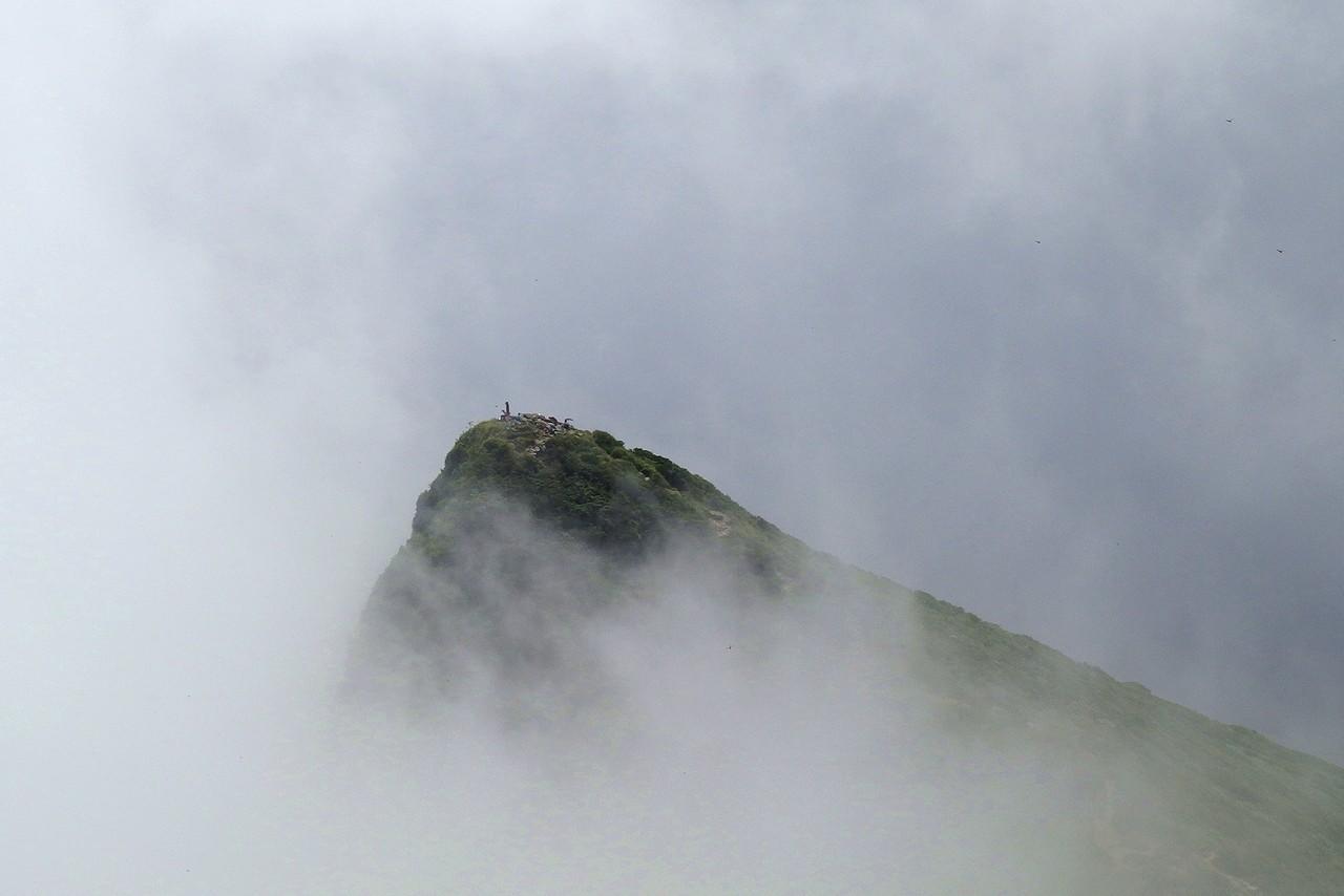 谷川岳 オキの耳から見たトマの耳
