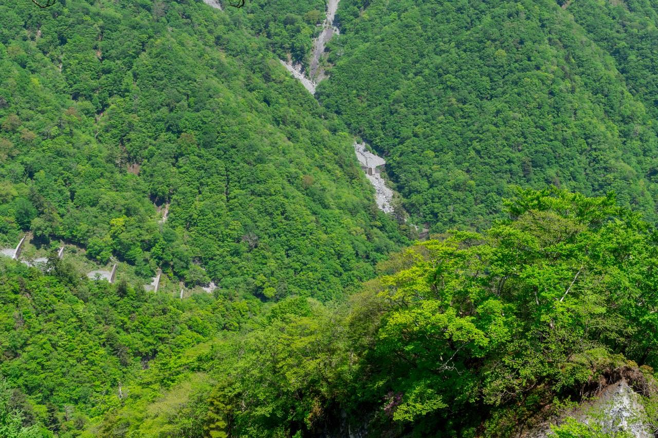 蛭ヶ岳南稜の砂防ダム