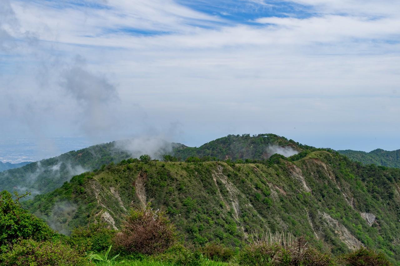 蛭ヶ岳から見た丹沢主脈
