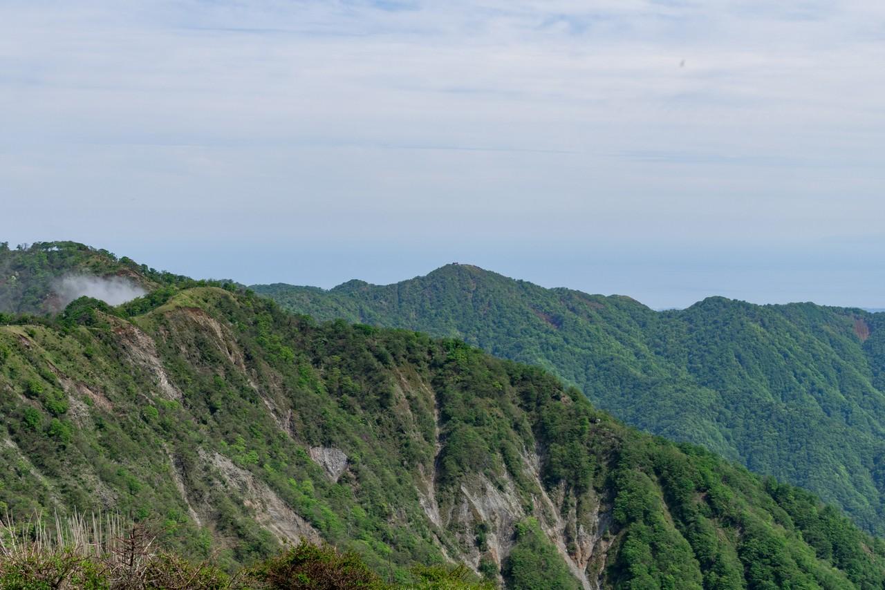 蛭ヶ岳から見た塔ノ岳