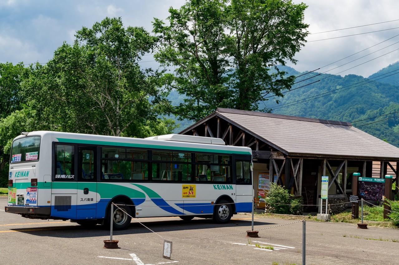 笹ヶ峰の駐車場