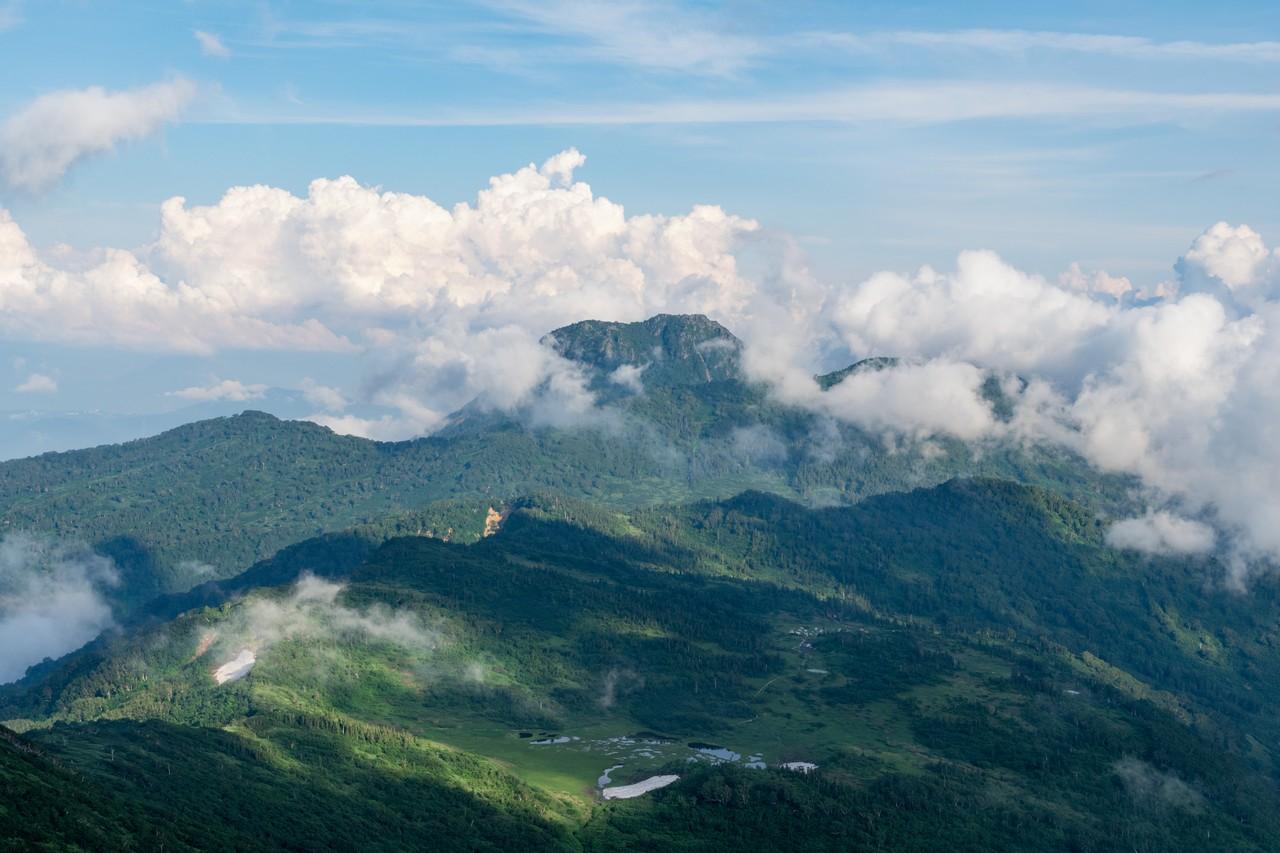 火打山から見た妙高山