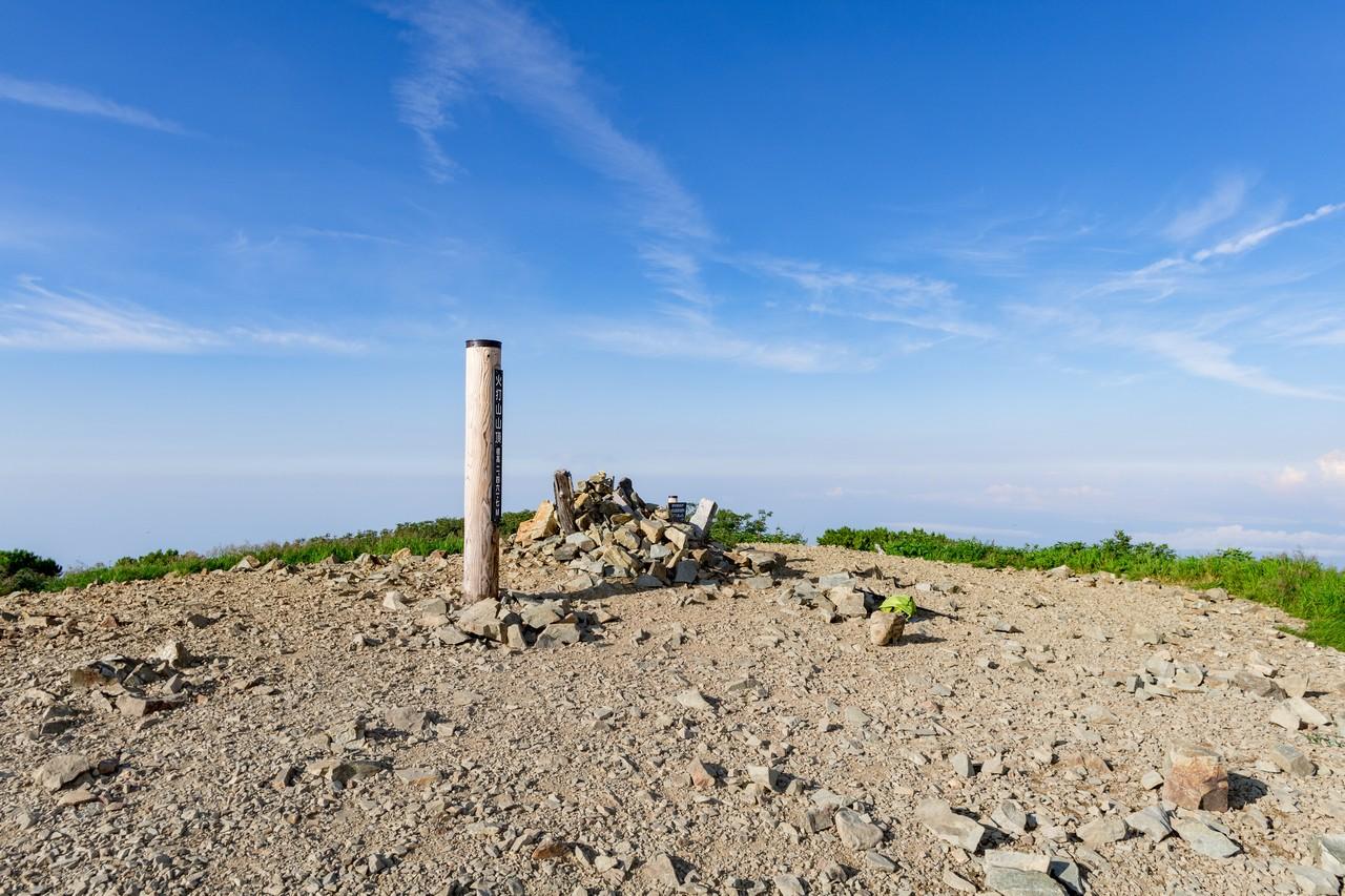 火打山の山頂