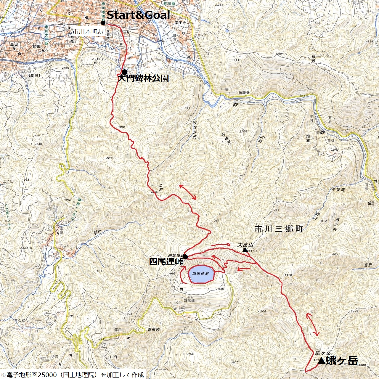 200426蛾ヶ岳-map