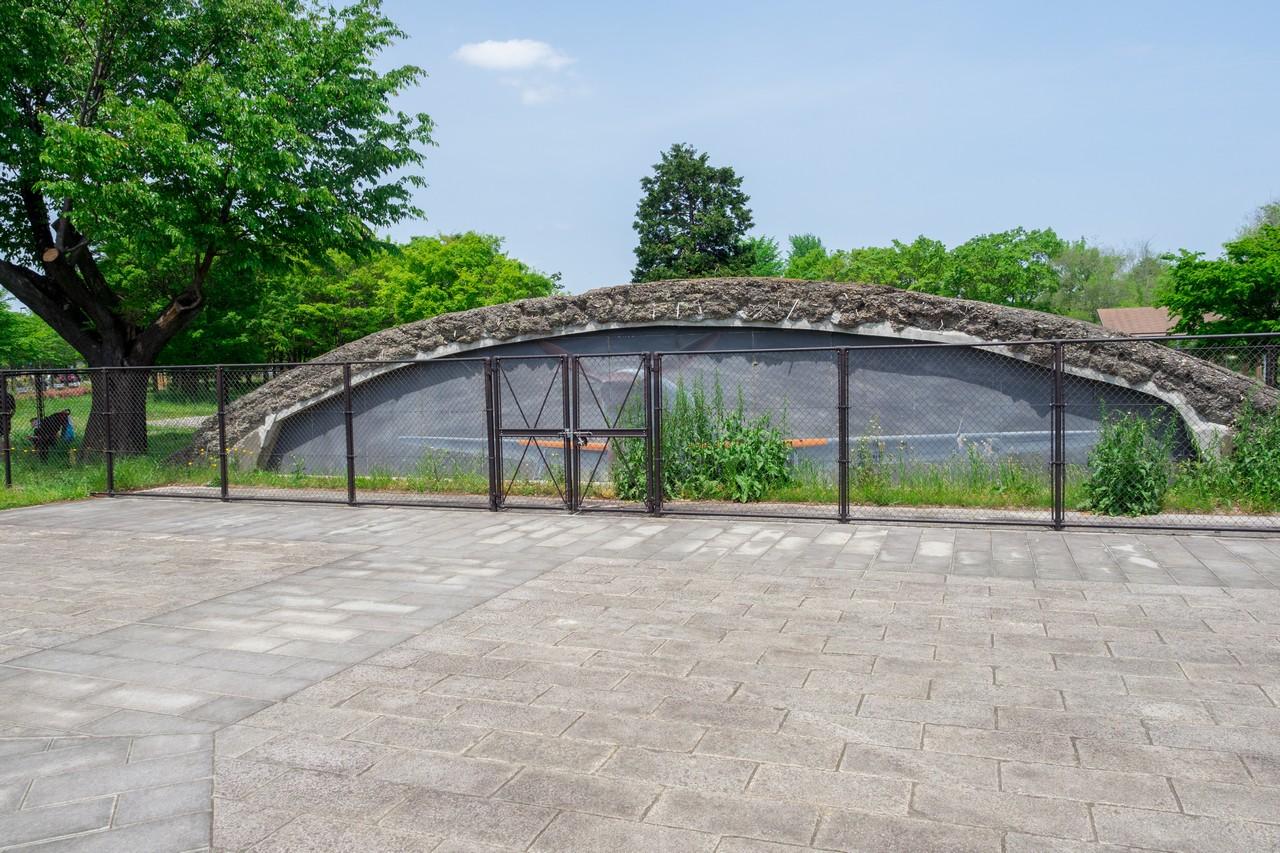 武蔵野の森公園の掩体壕
