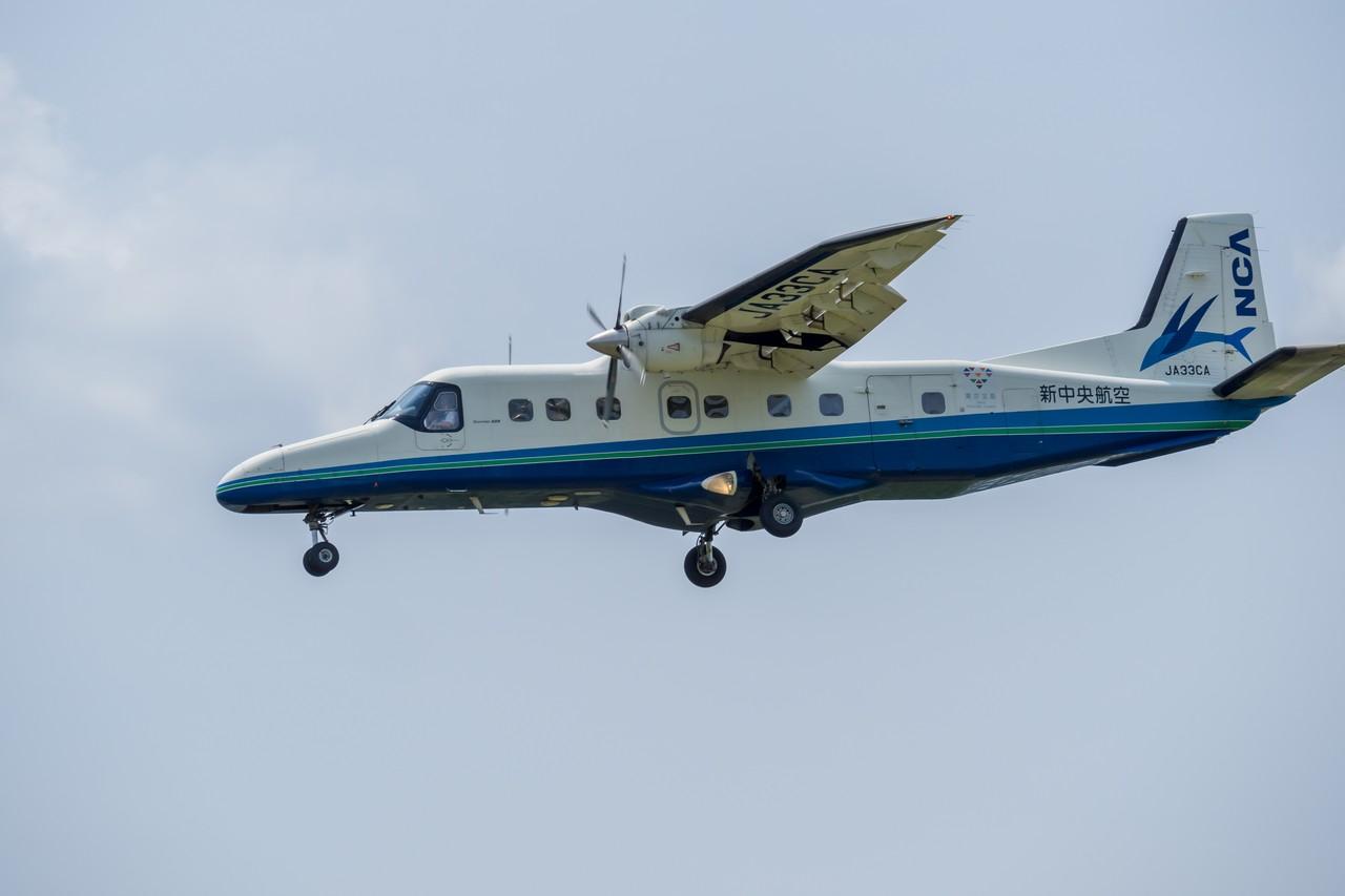 新中央航空のドルニエ228