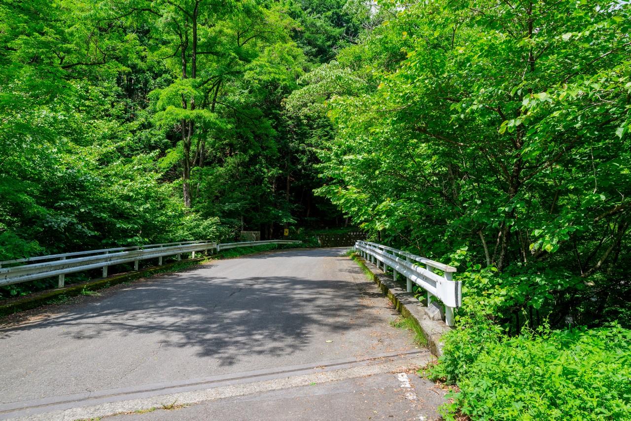 甘利山公園線の湯橋