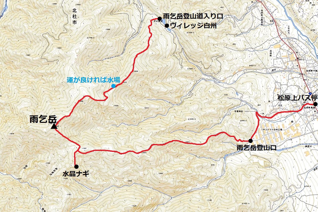 200719雨乞岳-map