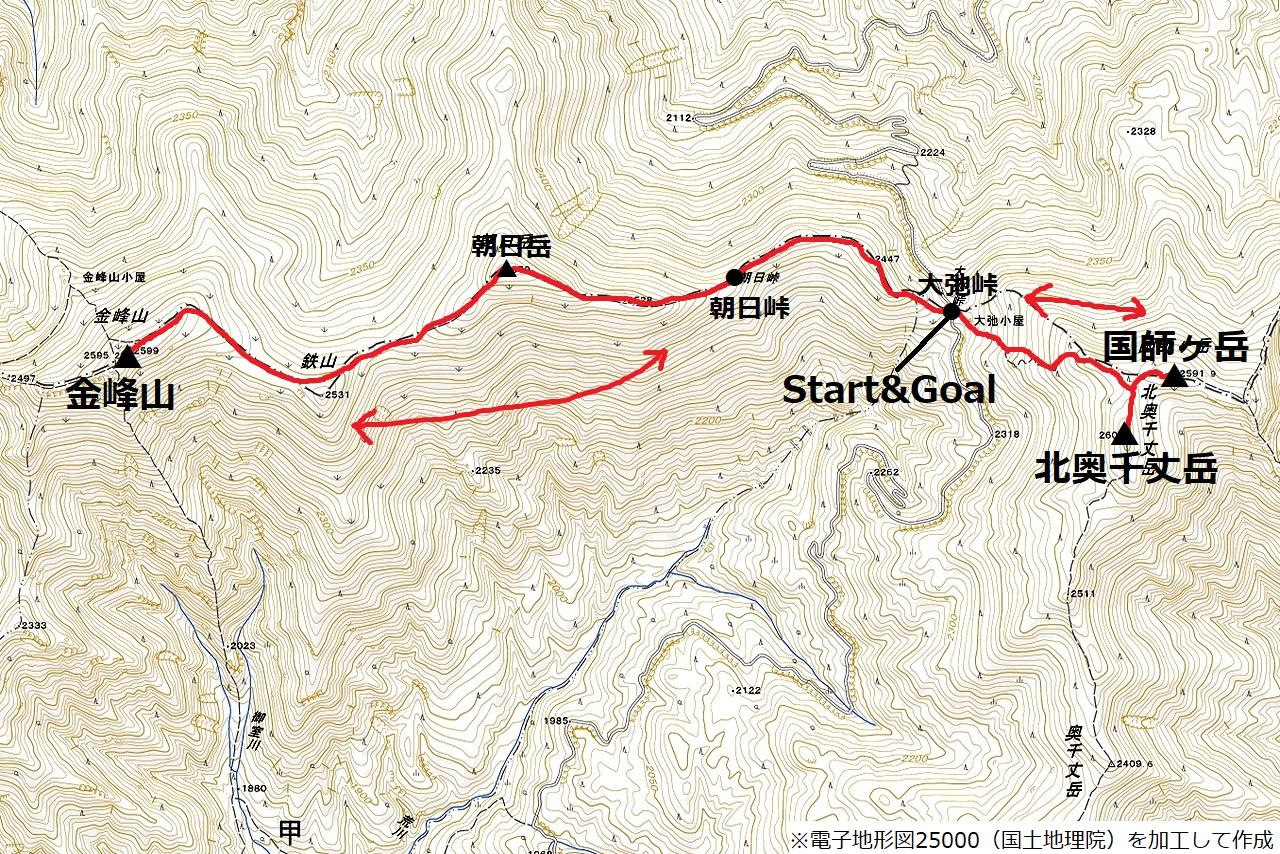 200815金峰山-map
