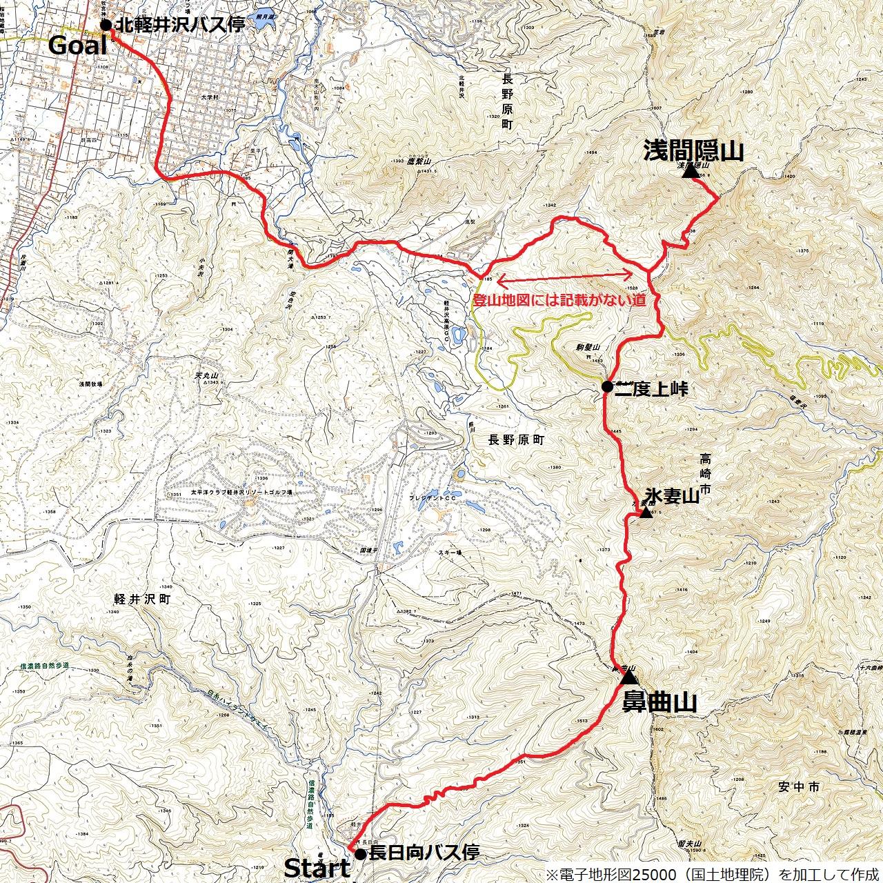 200829浅間隠山-map
