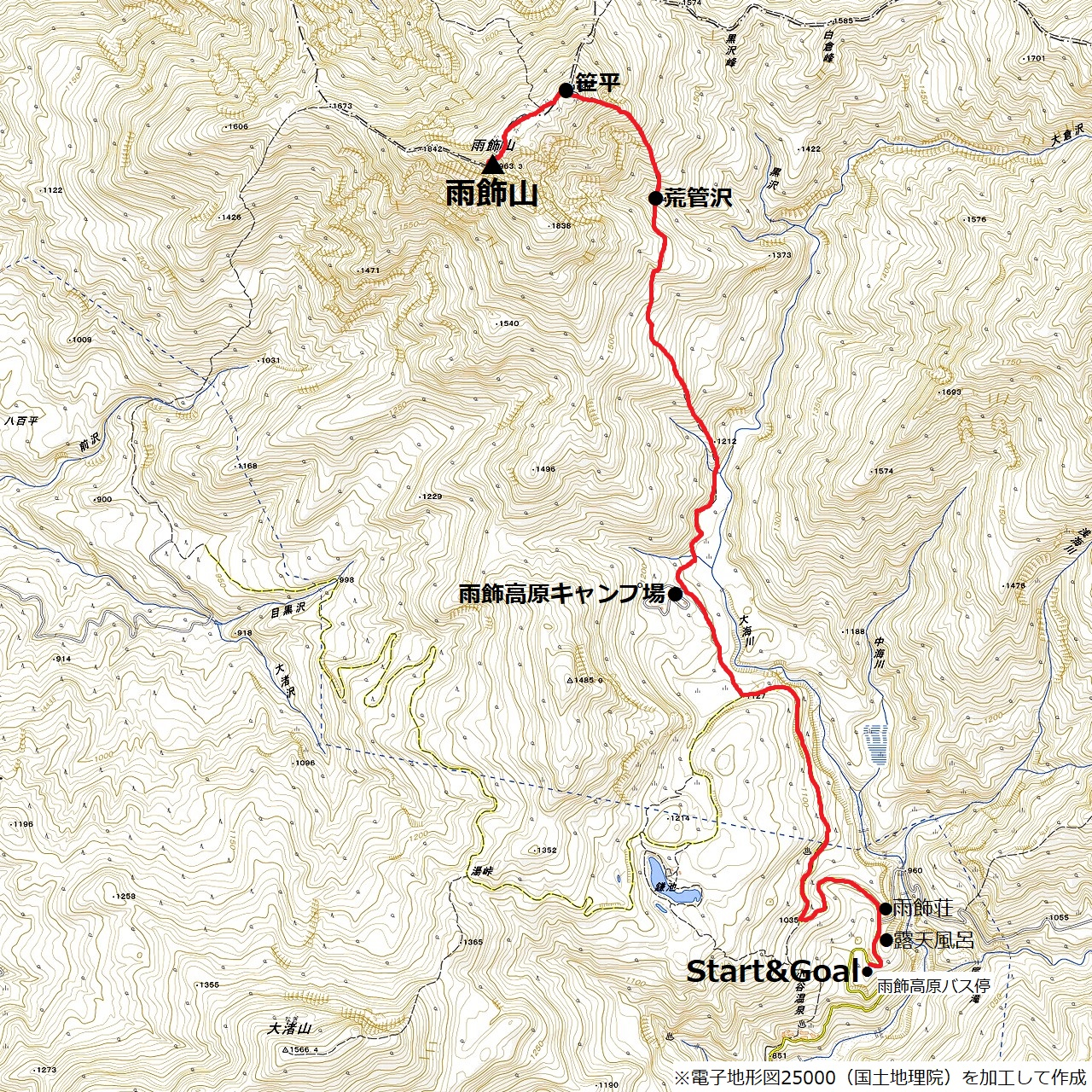 201021雨飾山-map