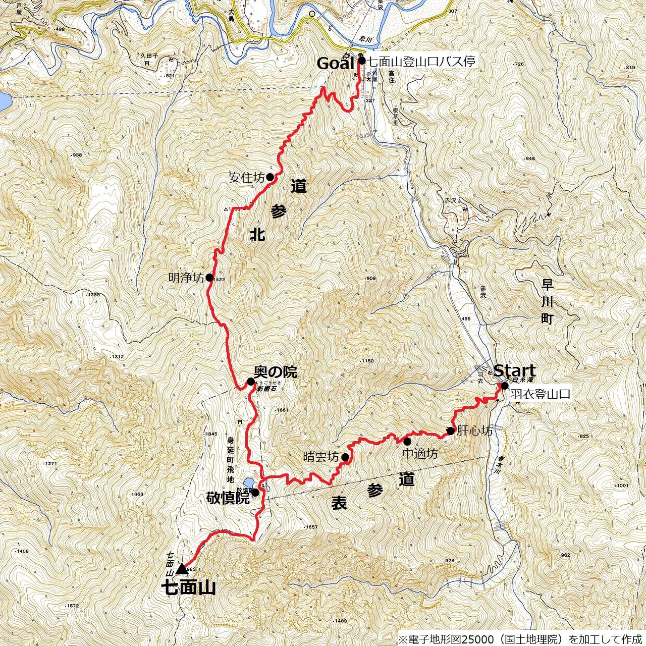 201031七面山-map
