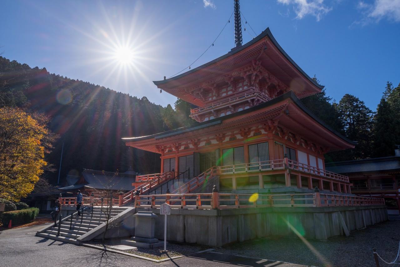 比叡山延暦寺 東塔