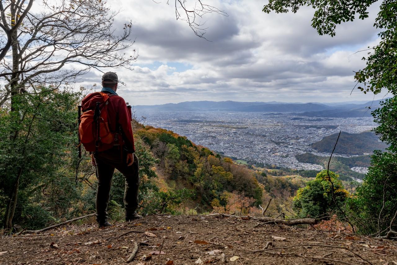 比叡山から見た京都盆地