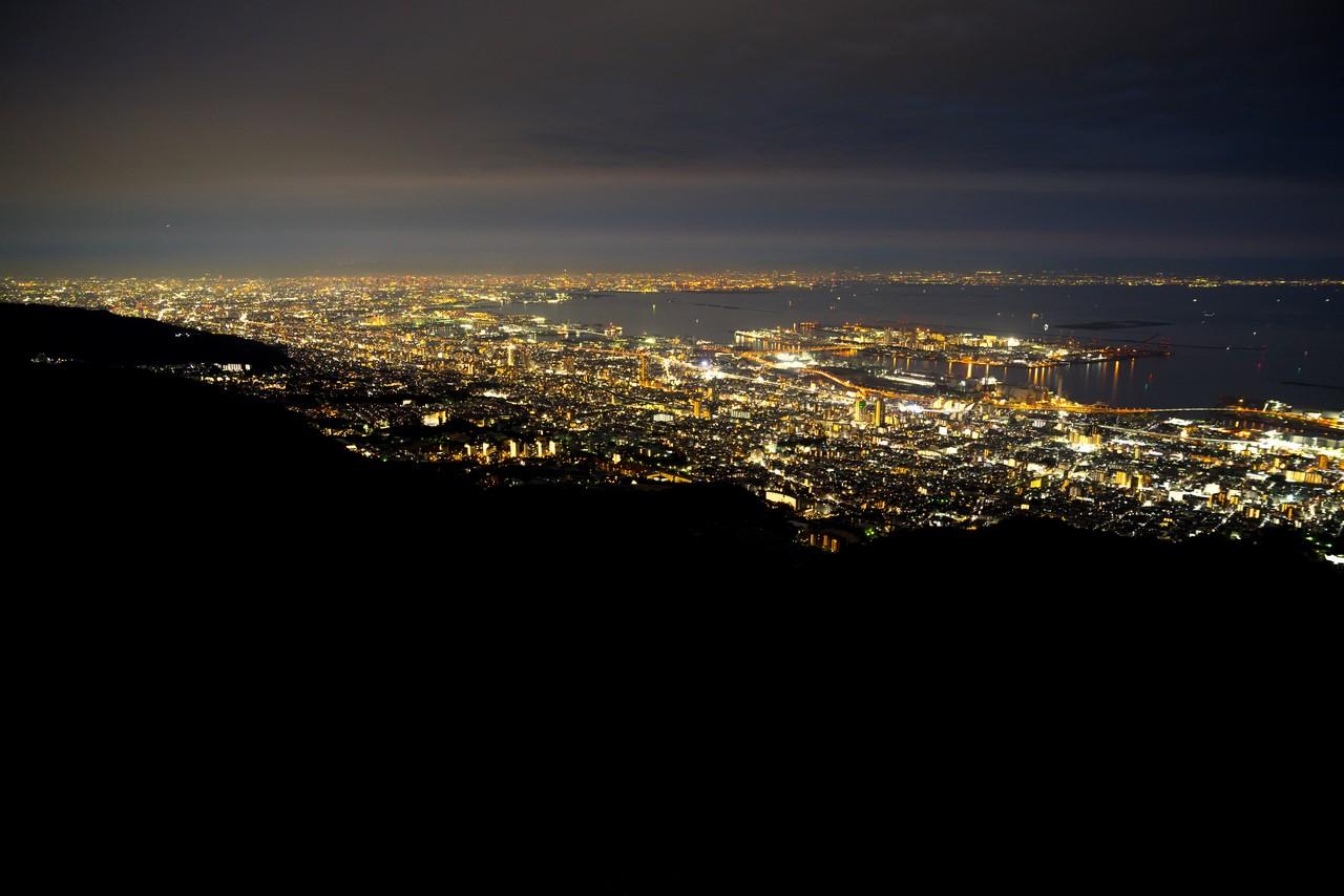 摩耶山から見た夜景
