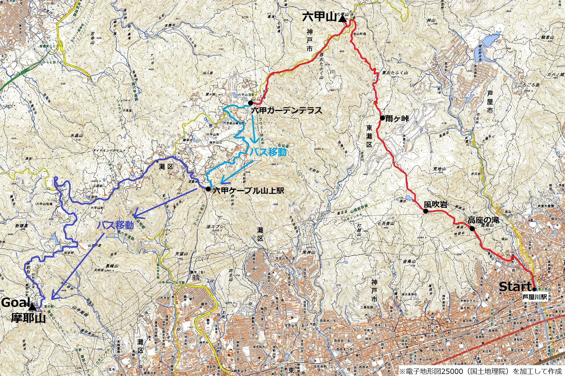 201122六甲山-map