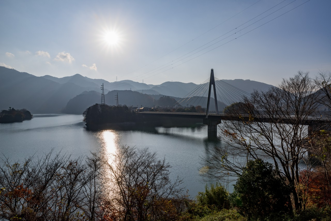 丹沢湖の永歳橋
