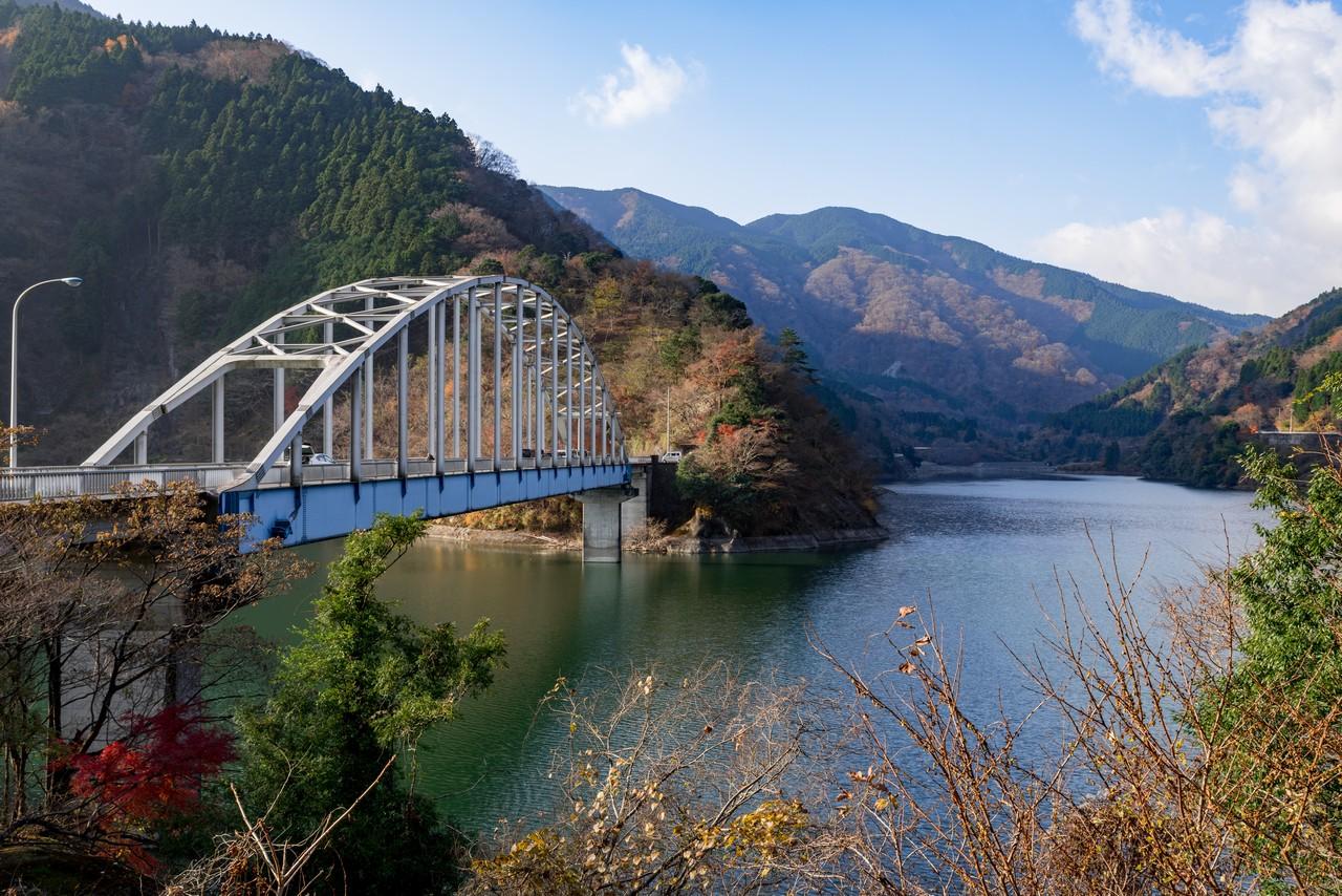 丹沢湖 世附大橋
