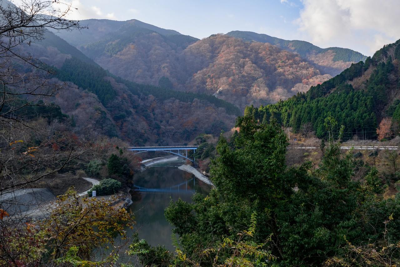 丹沢湖 世附川橋