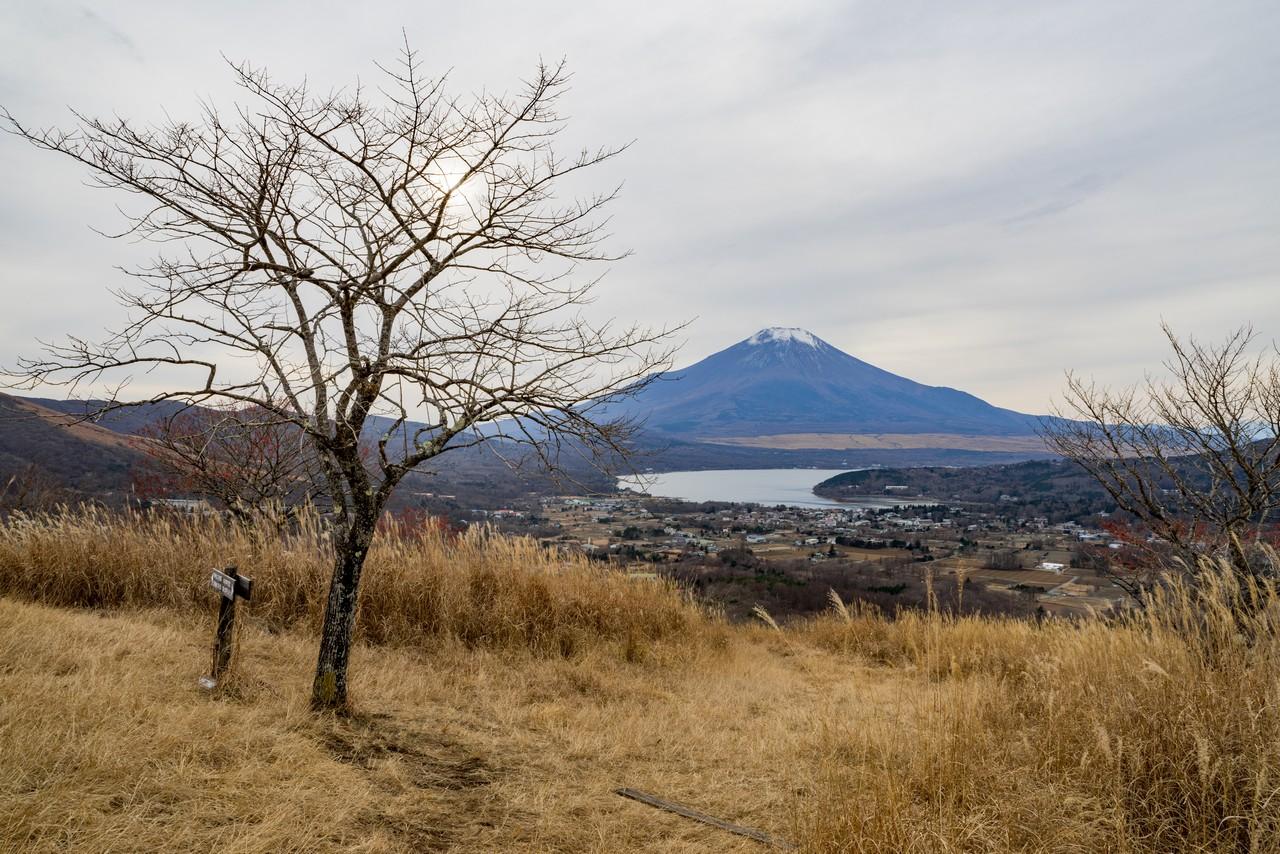 高指山から見た富士山