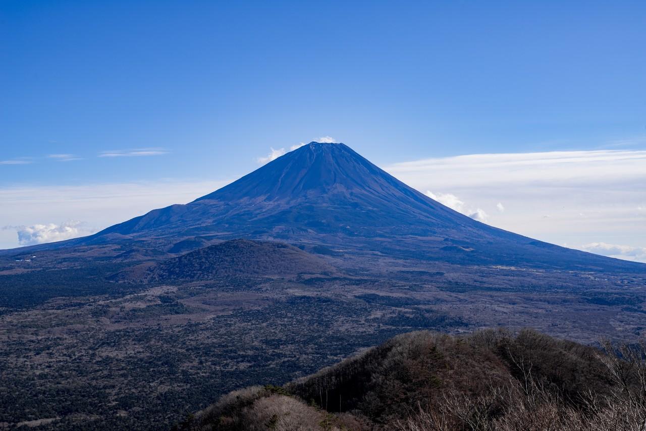 ノラマ台から見た富士山