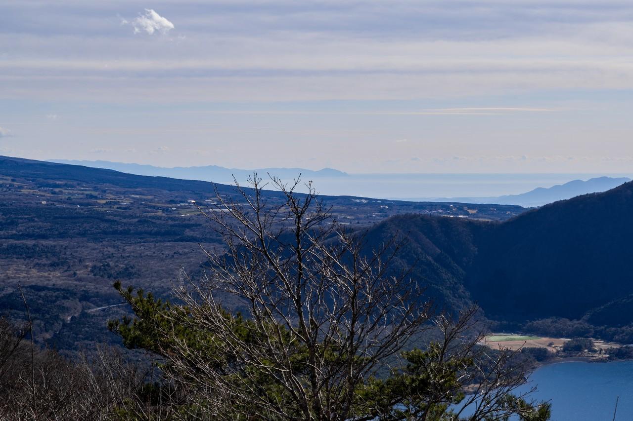 パノラマ台から見た駿河湾
