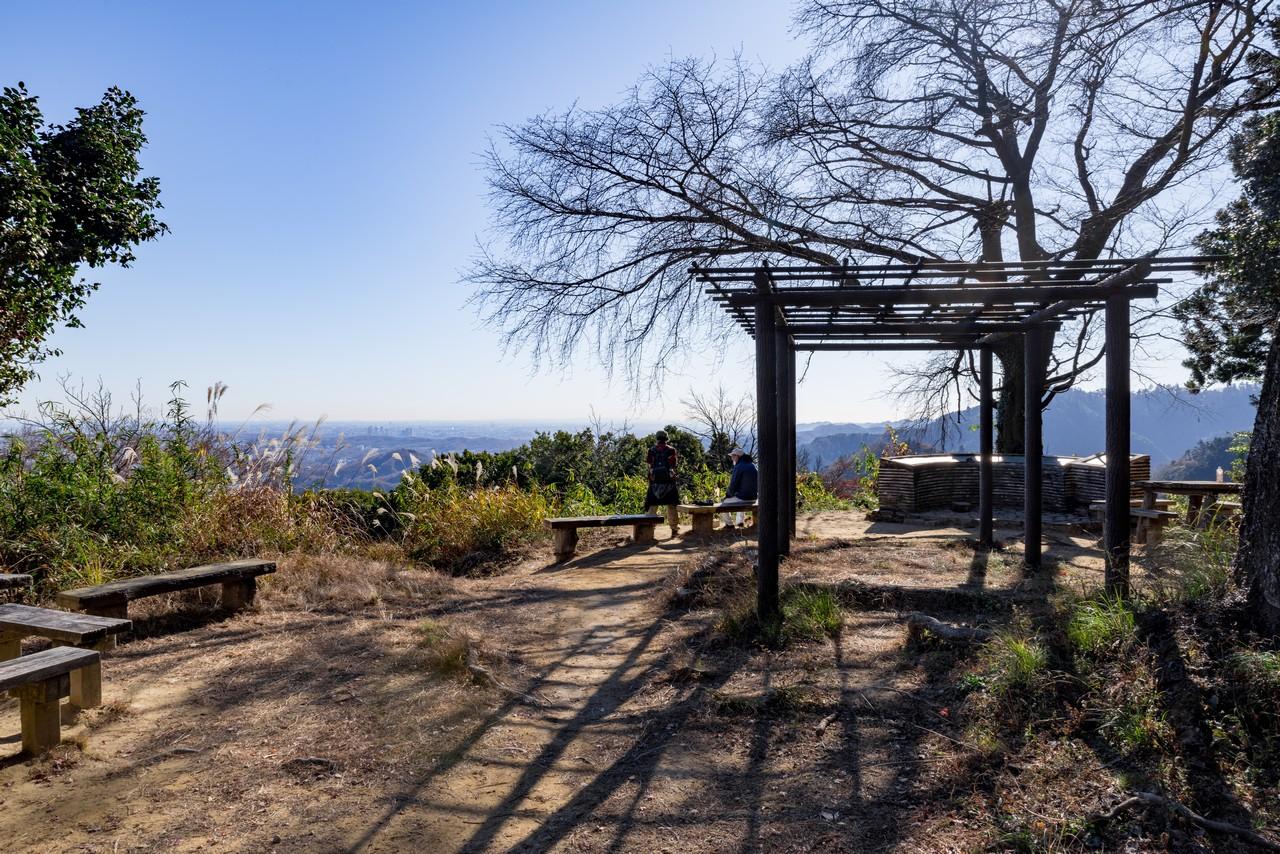 八王子城山の山頂