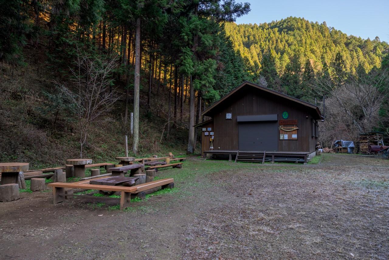木下沢キャンプ場跡