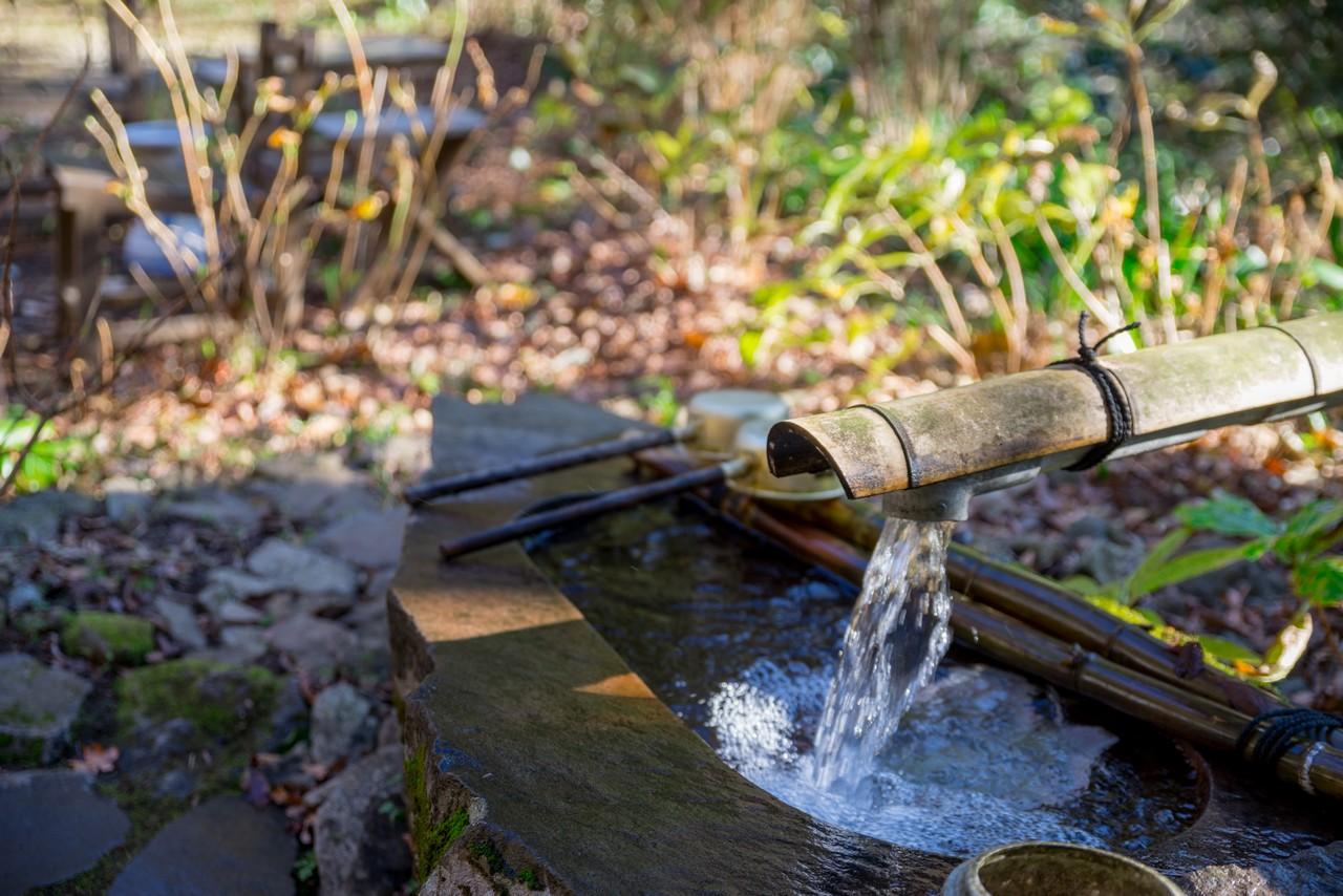阿弥陀寺の手水場