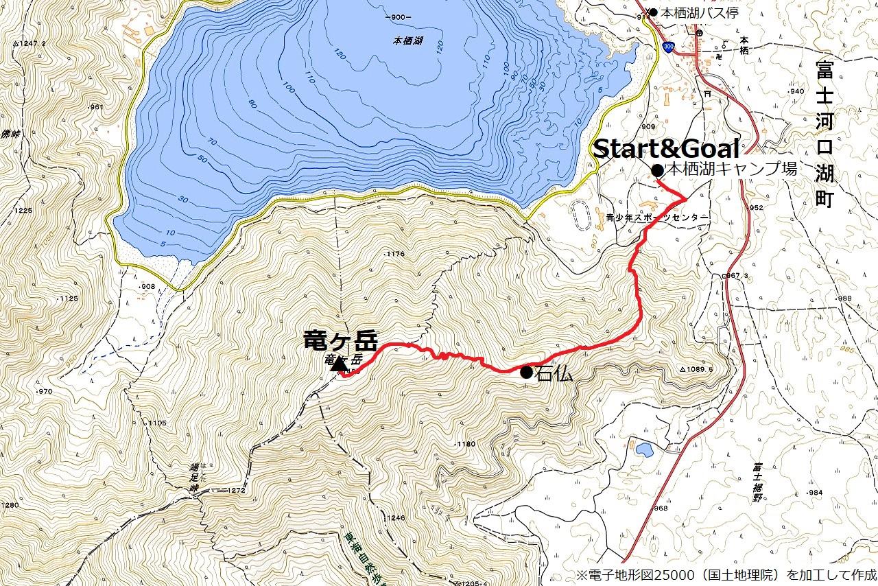 210101竜ヶ岳-map