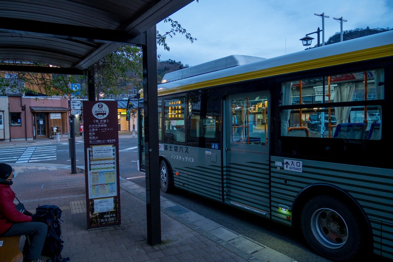 ハマイバ前行きのバス