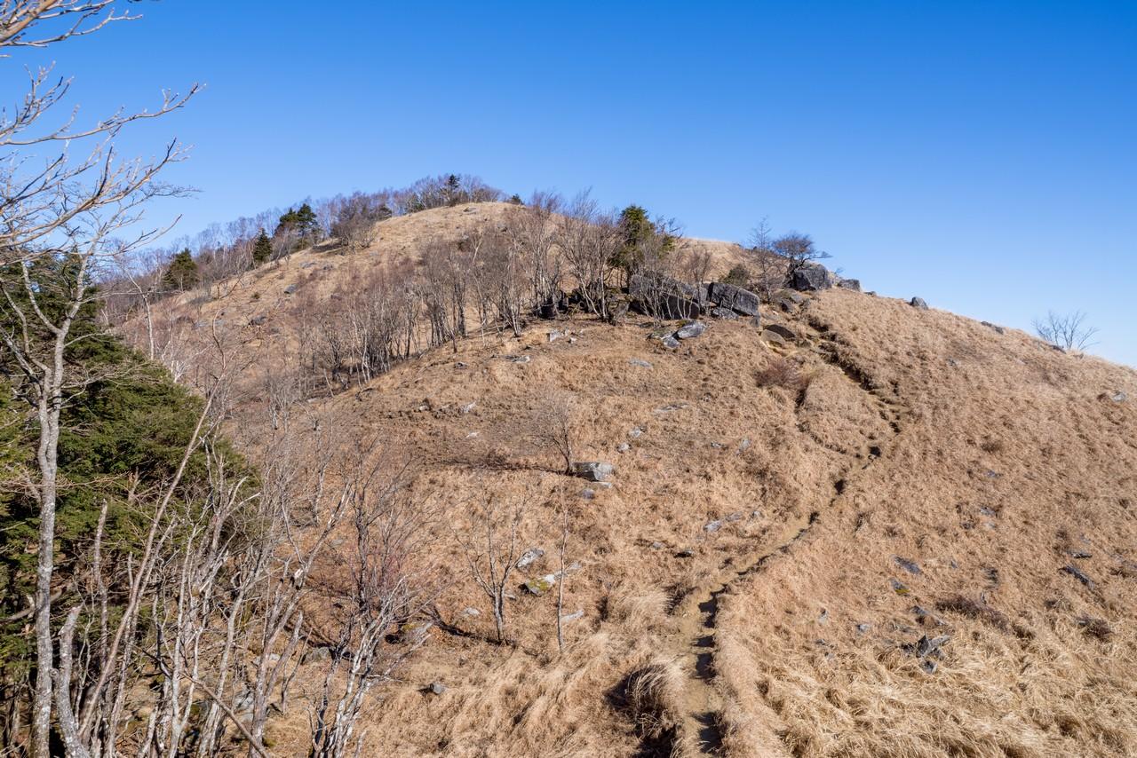 白谷ノ丸の山頂9
