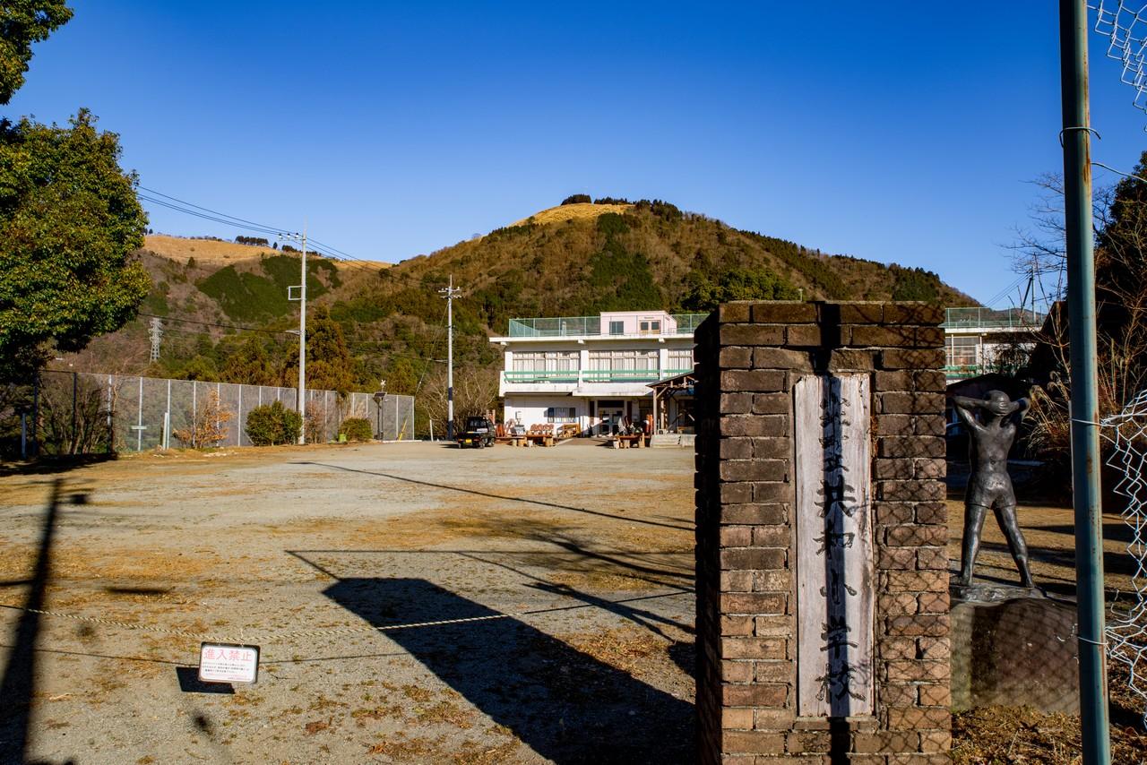山北町の旧共和小学校