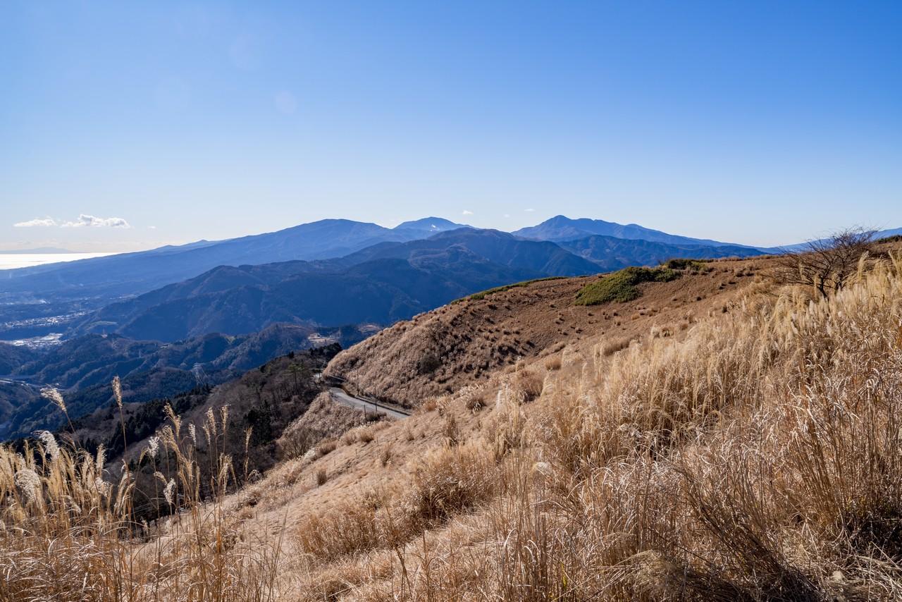 大野山から見た箱根