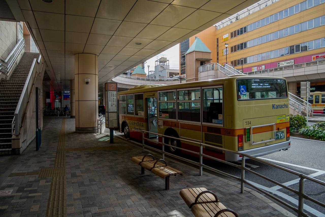 橋本駅のバス乗り場