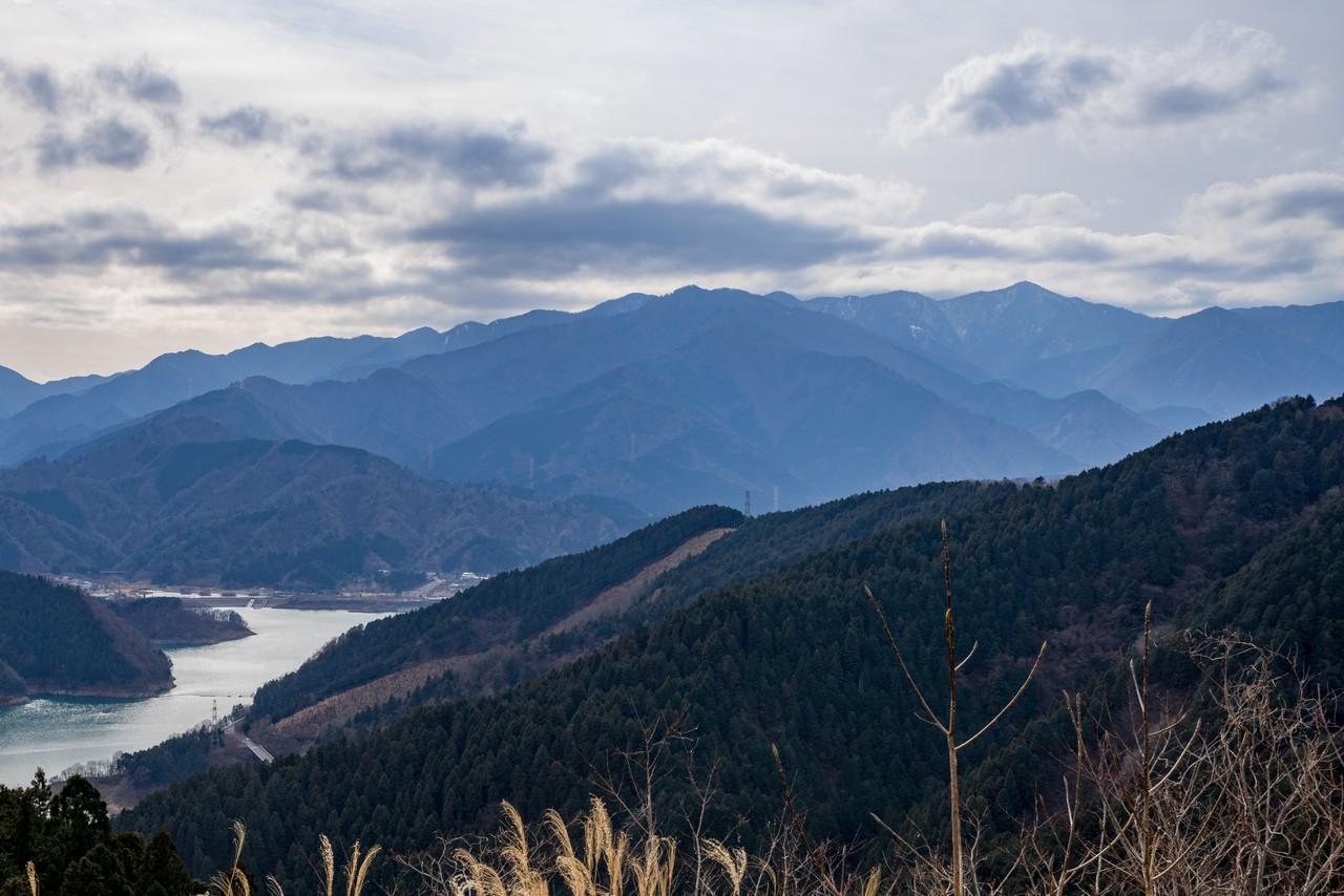 南山山頂からの展望
