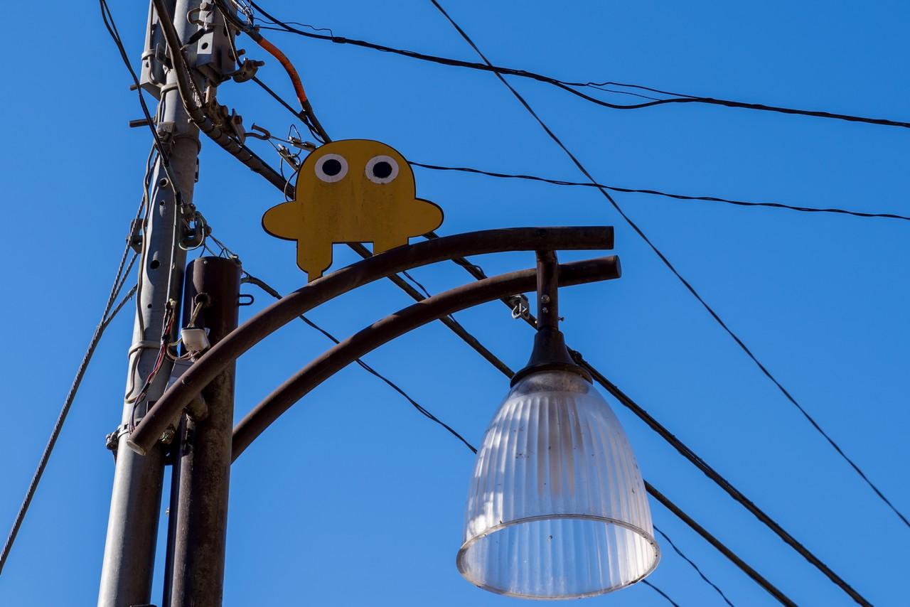 電柱の上のタバスキー