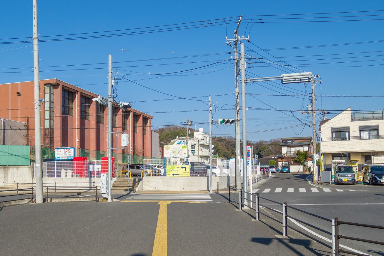 二宮駅の駅前