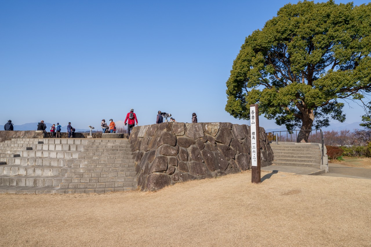 吾妻山公園の山頂
