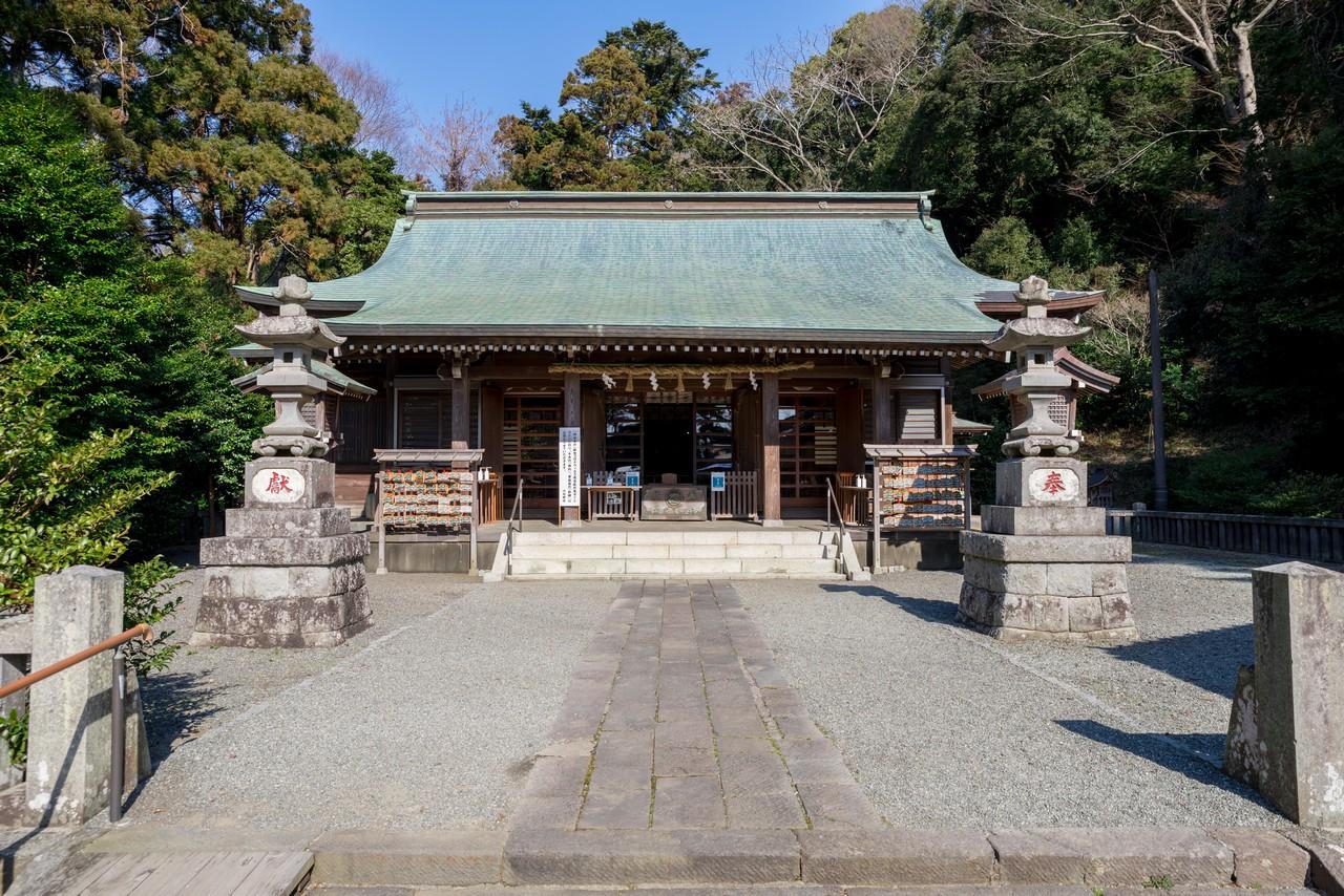 川勾神社の社殿
