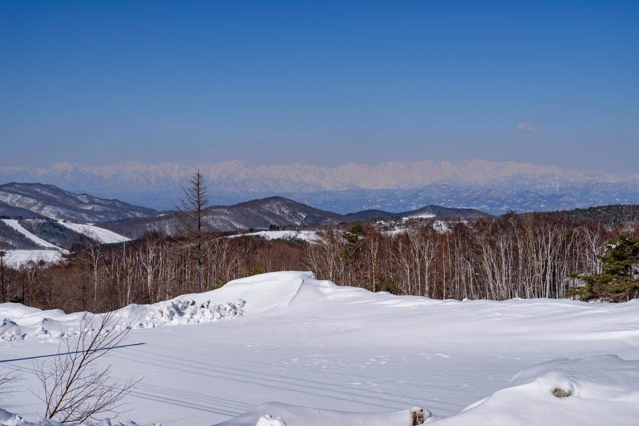 菅平高原から見た後立山連邦