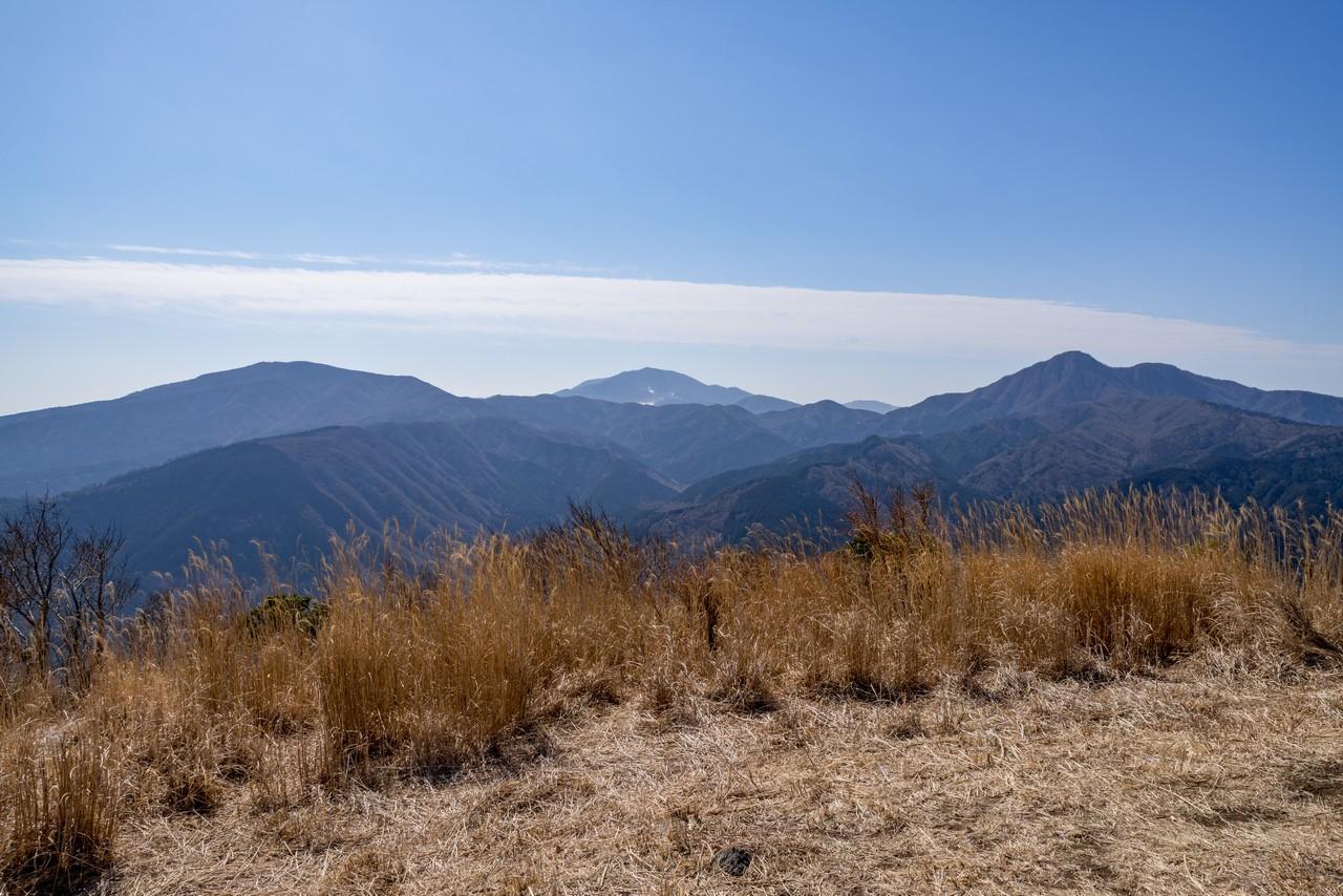 矢倉岳から見た箱根