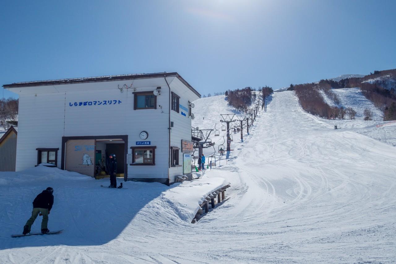 天元台高原スキー場のリフト