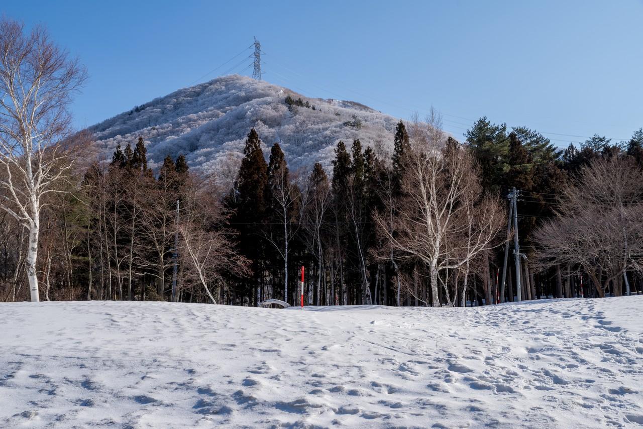 松手山コースの送電鉄塔