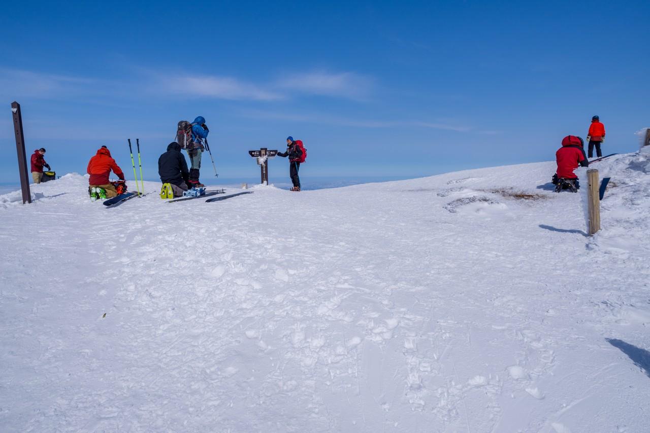 平標山の山頂