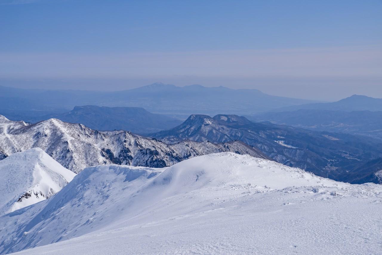 仙ノ倉山から見た赤城山