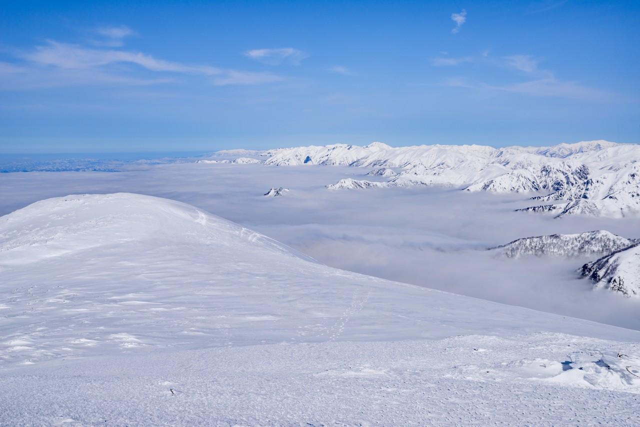 仙ノ倉山から見た雲海