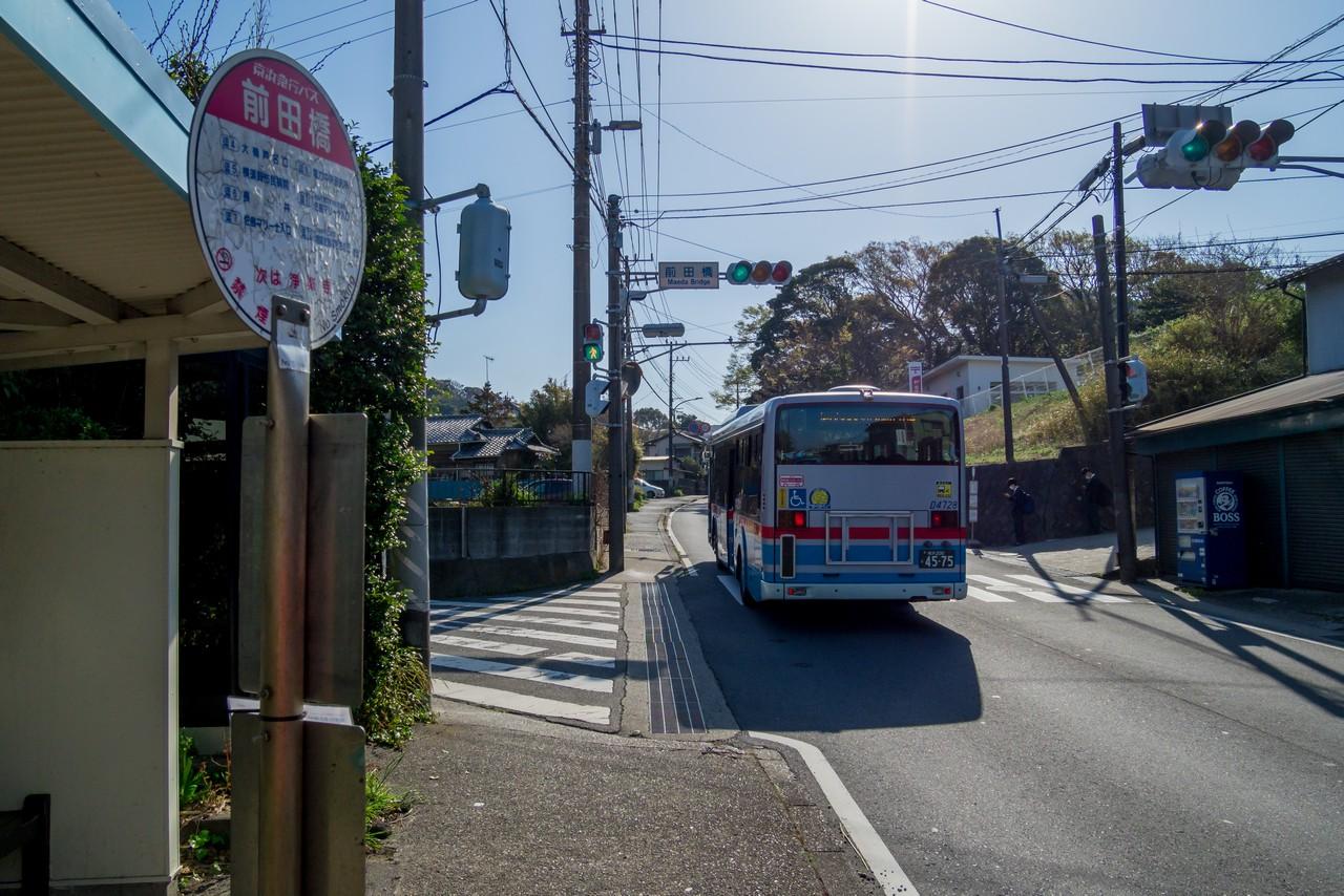 前田橋バス停