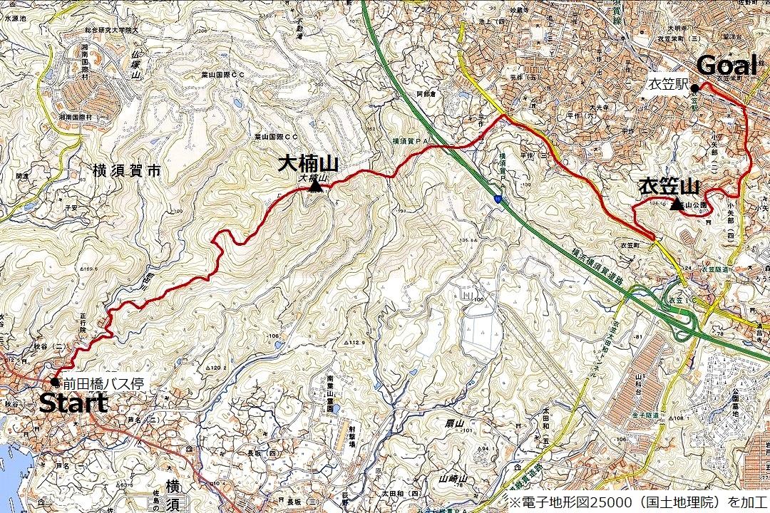 210324大楠山-map