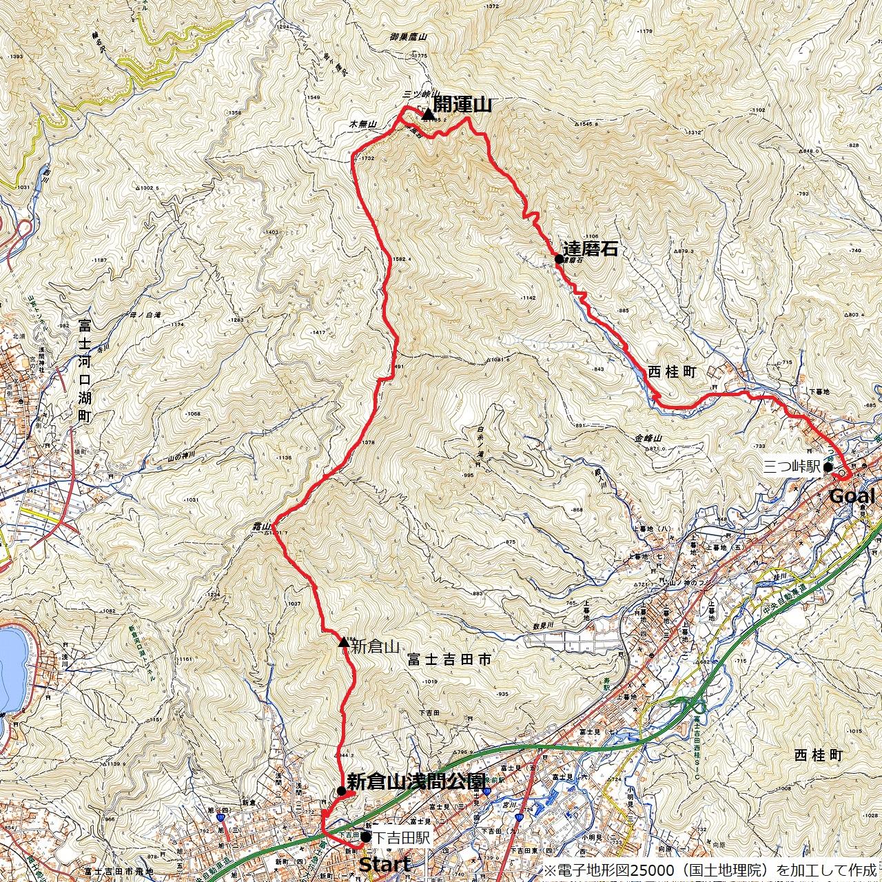210403三つ峠-map
